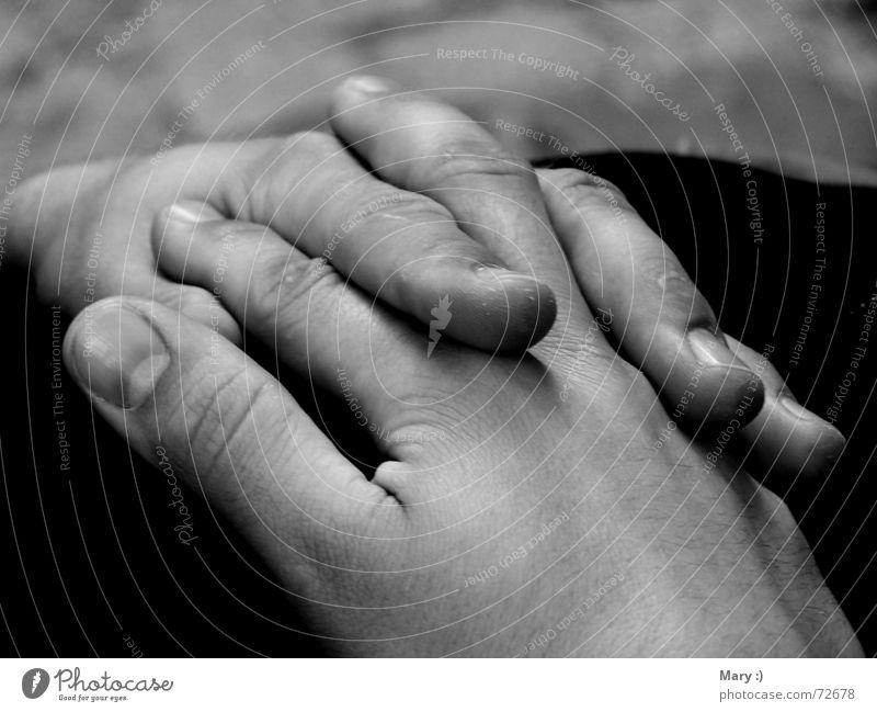 hands Hand Folded Calm Exterior shot Guitarist Black & white photo Close-up