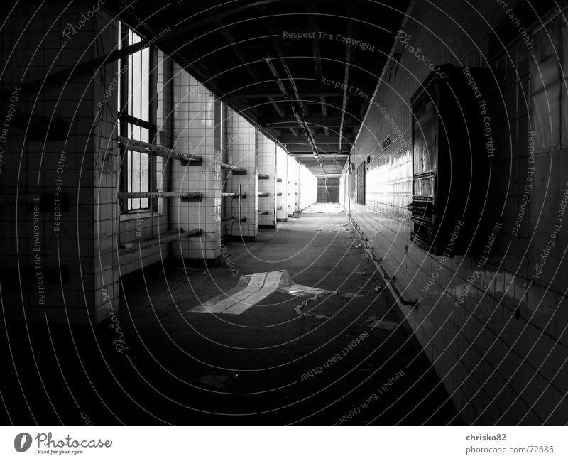 Death Dark Cold Fear Perspective Tunnel