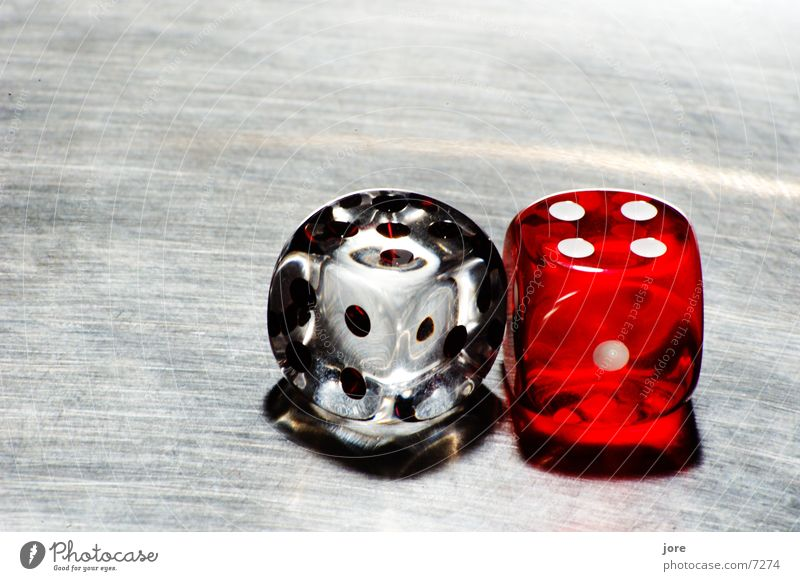 Alea iacta sunt 1 Playing Bet Kniffel Digits and numbers Breakage Leisure and hobbies dice Transparent caustics