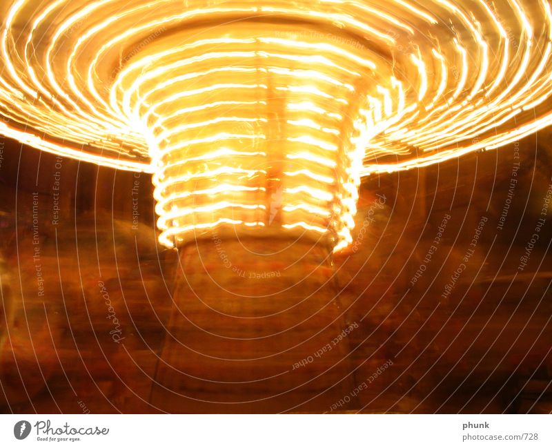 carousel Prater Fairs & Carnivals Long exposure blur Movement