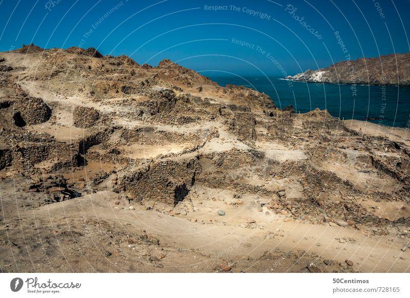 Puerto de Incas, Peru Vacation & Travel Tourism Trip Adventure Far-off places City trip Expedition Hiking Landscape Sun Hill Ocean Desert Ruin