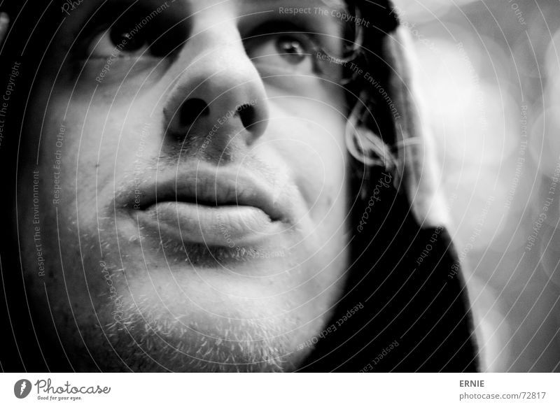 White Black Hair and hairstyles Garden Skin Nose Lips Facial hair Bubble Hooded (clothing) Self portrait Lick Wannabe