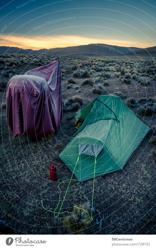 Ice cold camping in the desert with a motorbike Lifestyle Leisure and hobbies Vacation & Travel Trip Adventure Far-off places Freedom Camping Motorcyclist