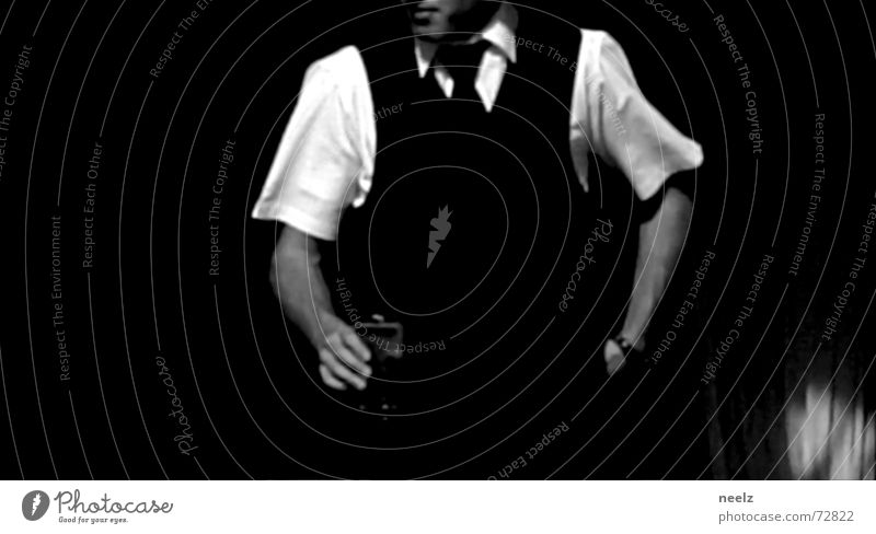 Server_01 Waiter Restaurant Action Services Hand Shirt White Black & white photo Contrast Looking Proffer Glass Arm