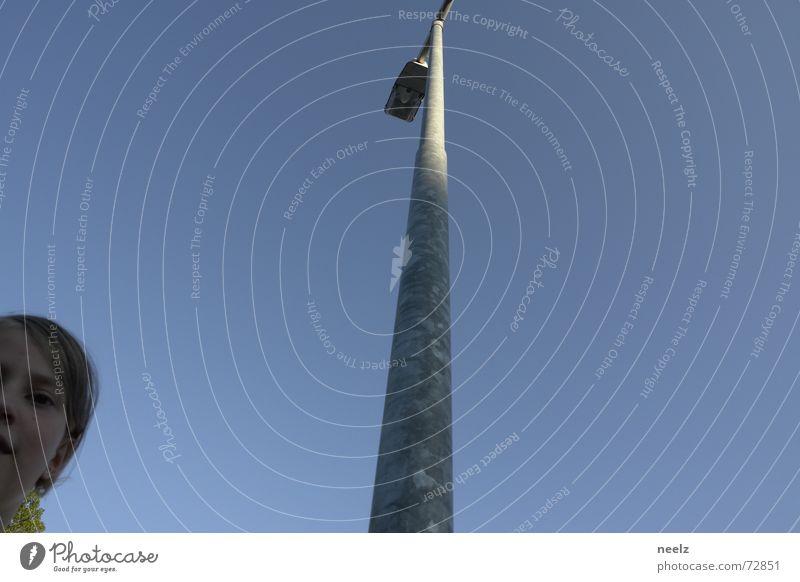 Sky Blue Lamp Bright Future Middle Lantern Street lighting Smart PISA study