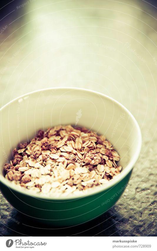 müsli for breakfast Food Yoghurt Dairy Products Cereal Grain Nut Healthy Healthy Eating Nutrition Breakfast Organic produce Vegetarian diet Diet Fasting