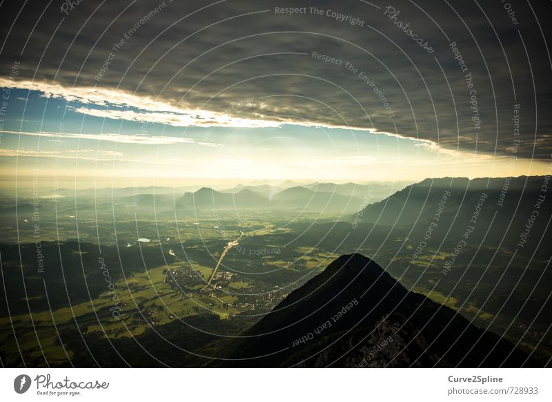 Sky Nature Green Clouds Dark Mountain Weather Fog Vantage point Threat Elements Alps Hill Snowcapped peak Storm Valley