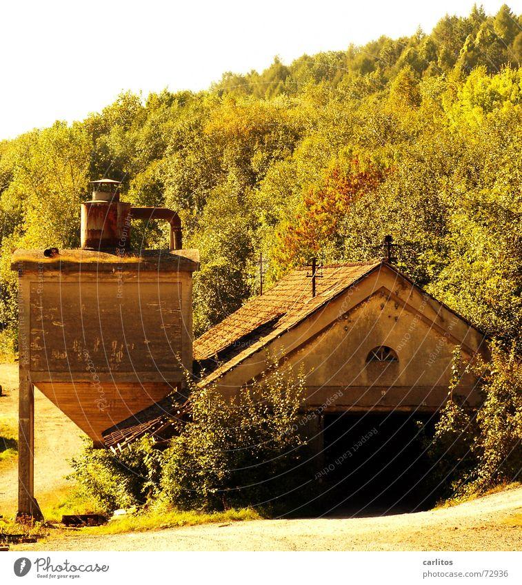 Calm Tower Decline Silo Extinct Saw mill