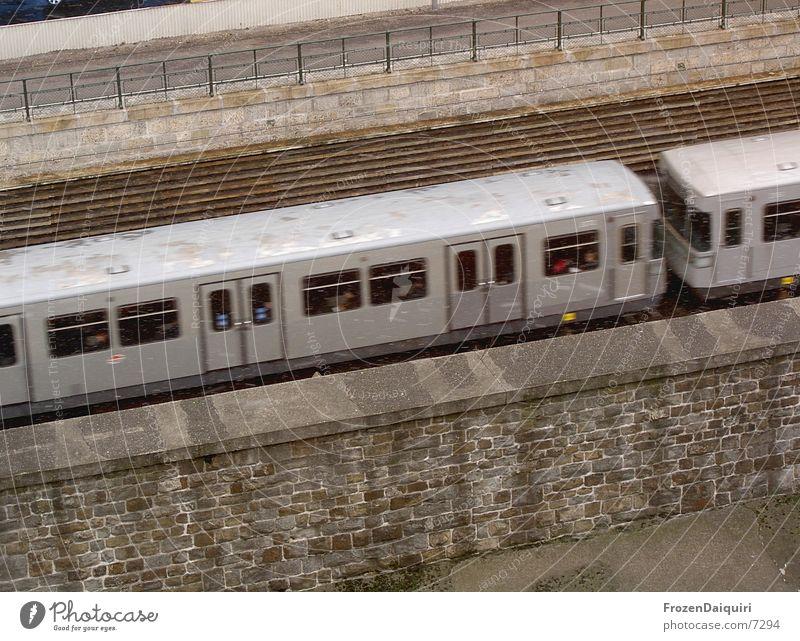 Snow Gray Wet Concrete Transport Speed Railroad tracks Underground Vienna Public transit