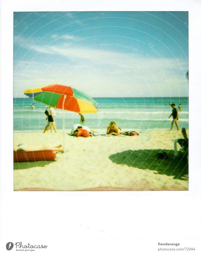 Sun Ocean Beach Clouds Relaxation Freedom Sand Waves Walking Skin Polaroid Sunshade Barefoot Salt Majorca White crest