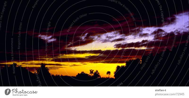 Sky Blue Calm Black Clouds Style Movement Warmth Moody Orange Time Horizon Peace Physics Sunrise Diagonal
