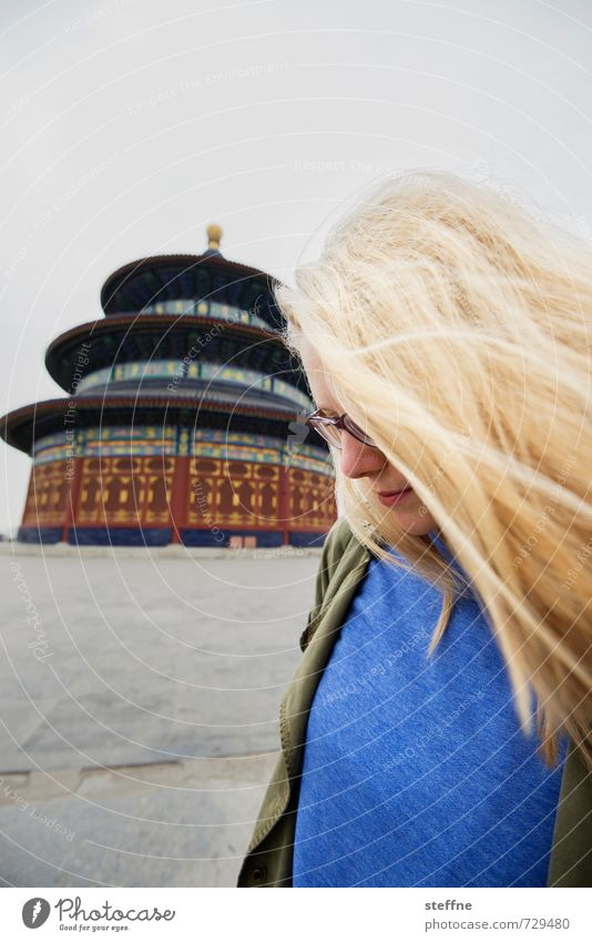 Youth (Young adults) Young woman 18 - 30 years Adults Esthetic Tourist Attraction China Beijing