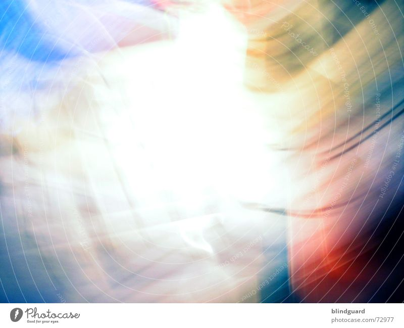 White Blue Red Yellow Colour Emotions Movement Action