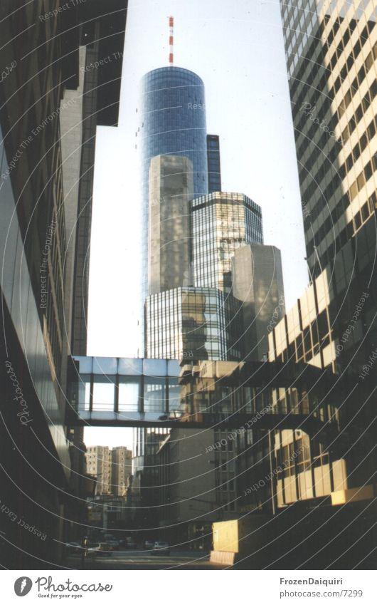Architecture High-rise Bench Tower Frankfurt