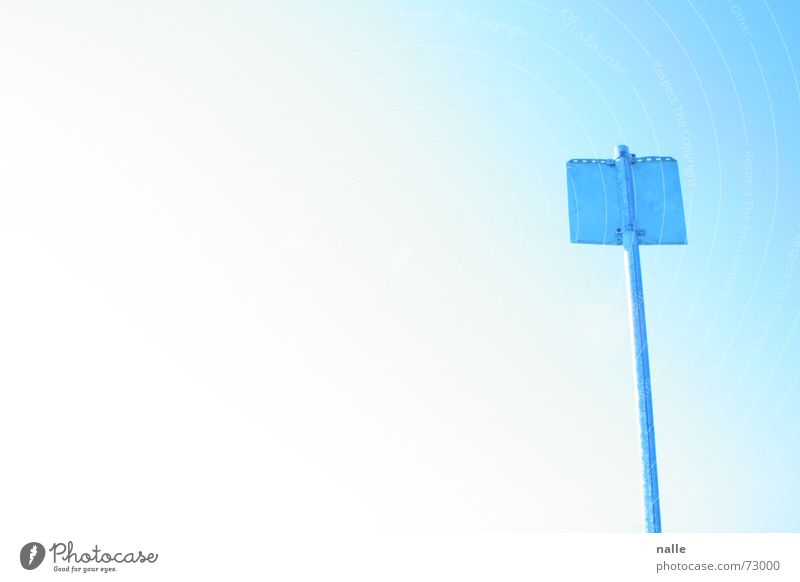 statement Light blue Beautiful Rod Beach Vacation & Travel Physics Ease Loneliness Calm Exterior shot Sky Blue Clarity Beautiful weather Signs and labeling