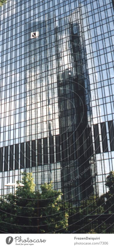 Architecture High-rise Facade Tower Skyline Frankfurt Office building House (Residential Structure) German Bank