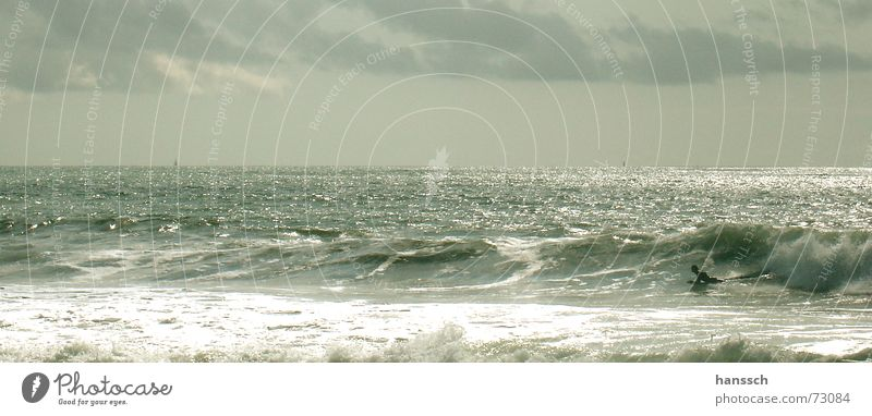 surf Waves Beach Clouds Ocean France Bodyboard Dazzle longville Freedom Happy reengineered