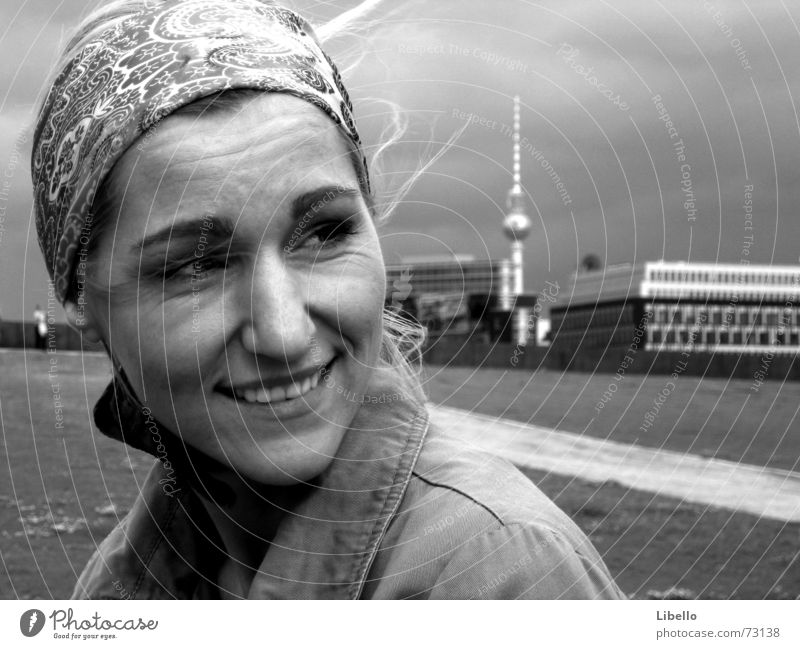 Queen of Berlin Town Grief Goodbye Longing Laughter Berlin TV Tower Far-off places time jump