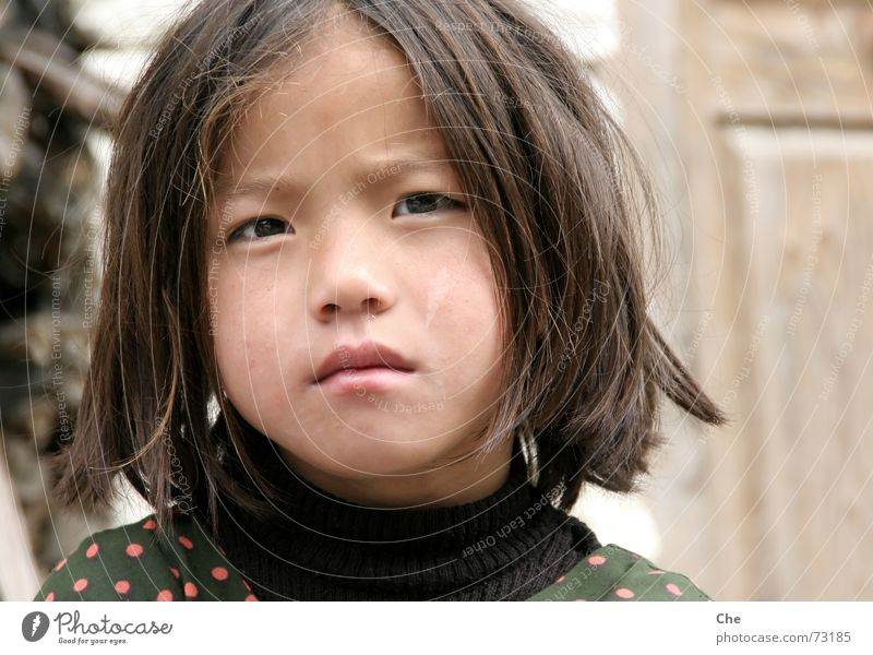 Child Old Beautiful Face Eyes Sadness Think Small Mouth Large Sweet Lips Cute Concern Hard Skeptical