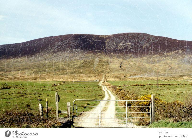 Green Mountain Lanes & trails Island Hill Pasture Ireland Fold Barn