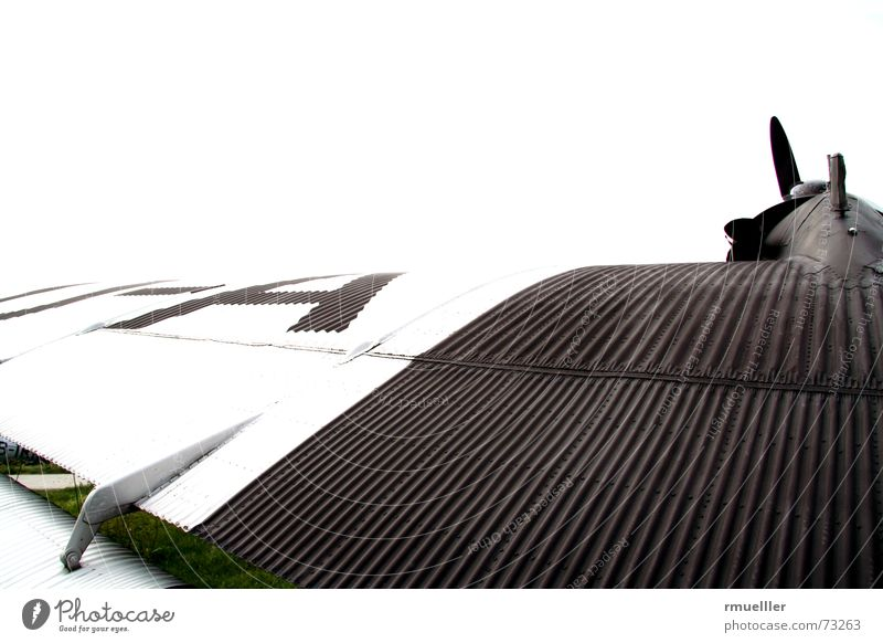 Vacation & Travel Clouds Freedom Airplane Technology Wing Past Historic Pilot Propeller