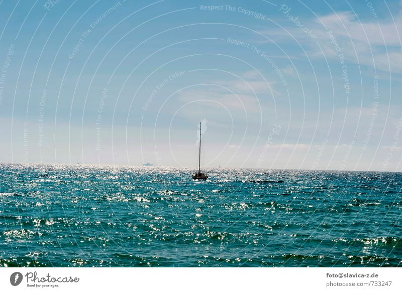 Sky Nature Vacation & Travel Colour Water Summer Sun Ocean Landscape Far-off places Beach Environment Freedom Horizon Leisure and hobbies Waves