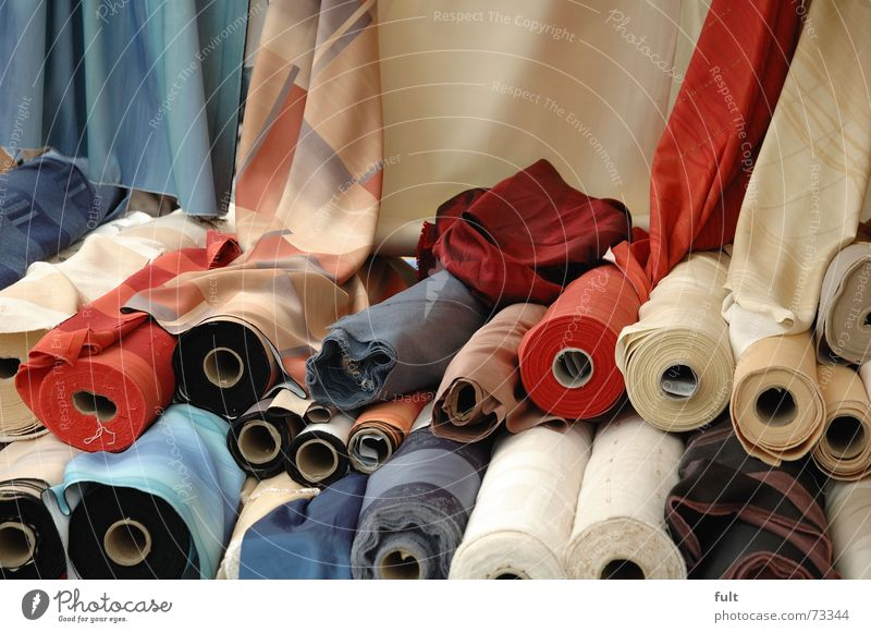 Cloth Curtain Coil Sewing thread Rag Textiles Cotton Bale of straw