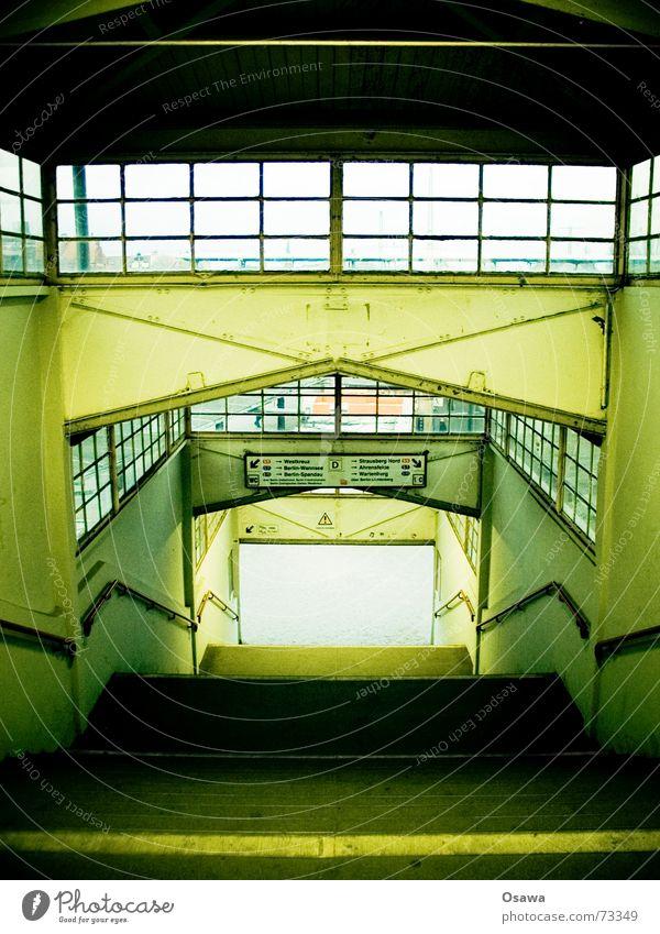 Berlin Window Stairs Train station Handrail Staircase (Hallway) Platform