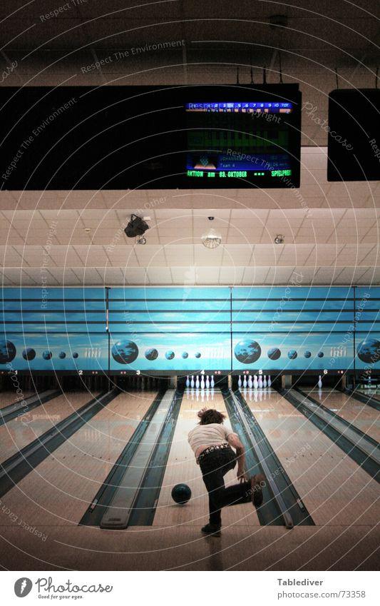 Ball Sphere Throw Coil Display 10 Bowling Nine-pin bowling Push Bowling ball