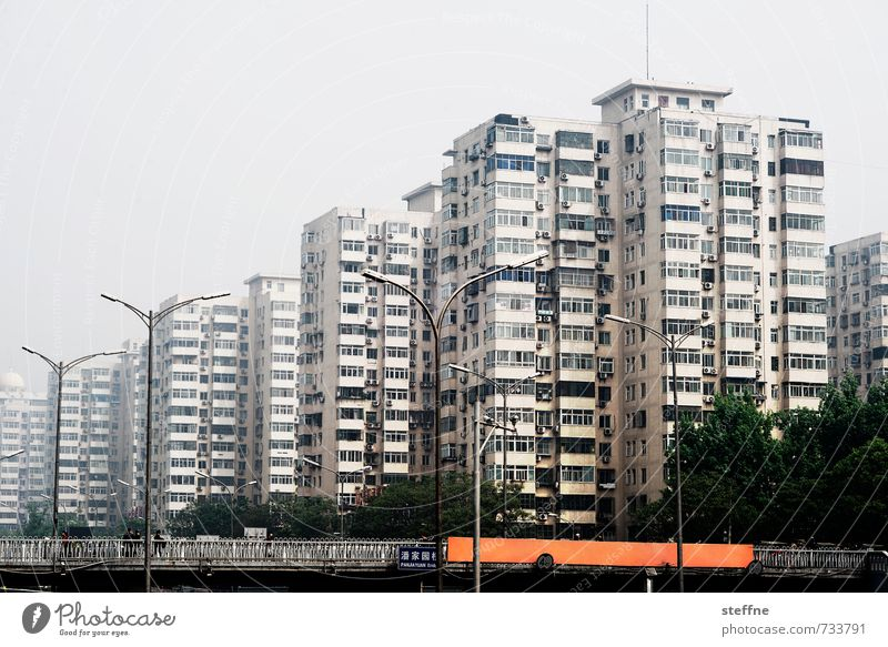 City House (Residential Structure) Living or residing Gloomy China Narrow Overpopulated Beijing