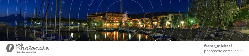 Dream Large Romance To go for a walk Harbour Panorama (Format) Lake Garda