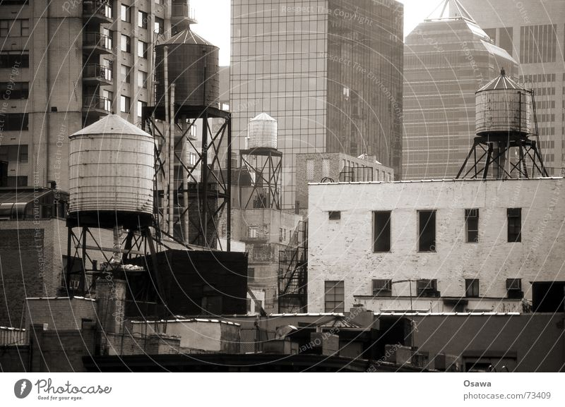 Family water tank New York City Water tank Building Chaos had Arrangement Town Architecture
