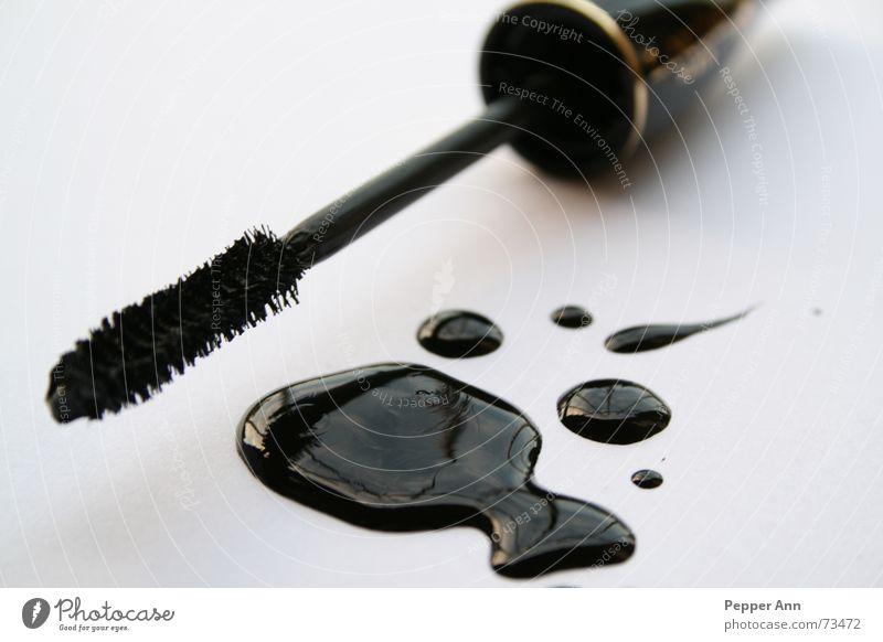 Black Wet Cosmetics Patch Puddle Brush Mascara Nail polish