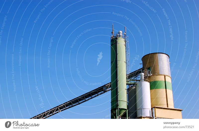 Sky Green Blue Calm Above Building Metal Large Might Technology Industrial Photography Tower Machinery Upward Beautiful weather Progress