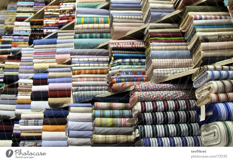 fabric store colors lines texture textile roll Large