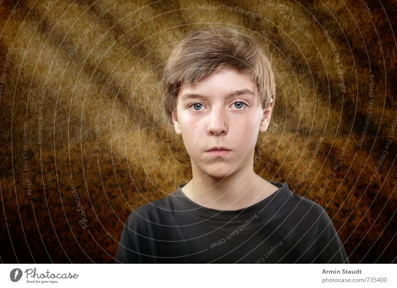 Portrait Style Design Music Human being Masculine Youth (Young adults) 1 8 - 13 years Child Infancy Sit Esthetic Exceptional Cool (slang) Dark Creepy Beautiful