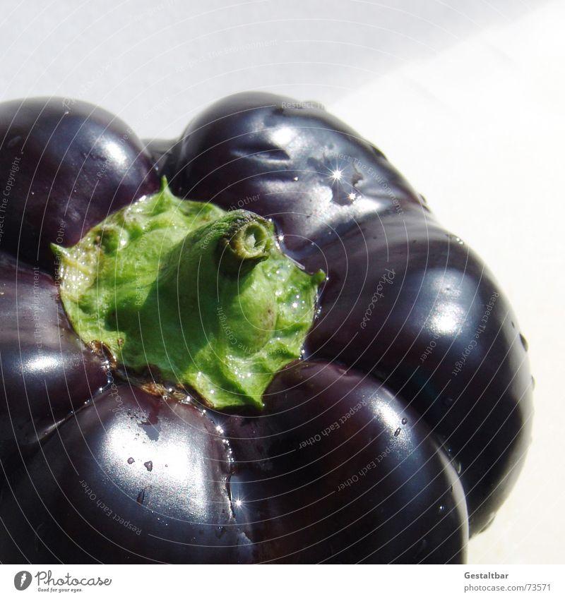 Black Nutrition Healthy Food Fresh Violet Vegetable Delicious Vitamin Pepper Formulated