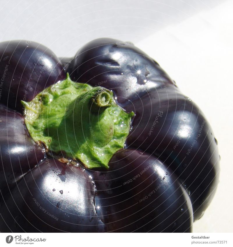 Black Nutrition Healthy Food Fresh Violet Vegetable Delicious Vitamin Pepper Formulated
