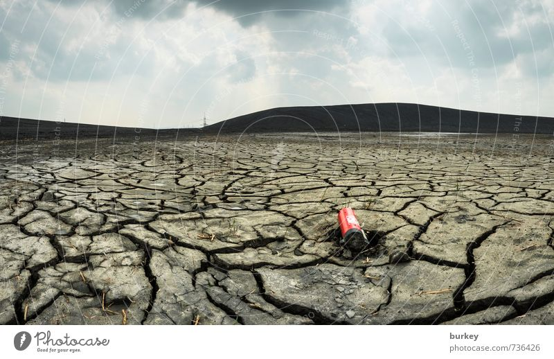 thirst Landscape Earth Drought Desert Deserted Extinguisher Dream Sadness To dry up Old Threat Infinity Broken Gloomy Dry Gray Concern Grief Thirst Loneliness