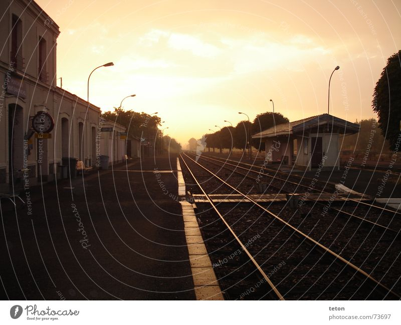 Vacation & Travel Loneliness Longing Station France Train station Home country