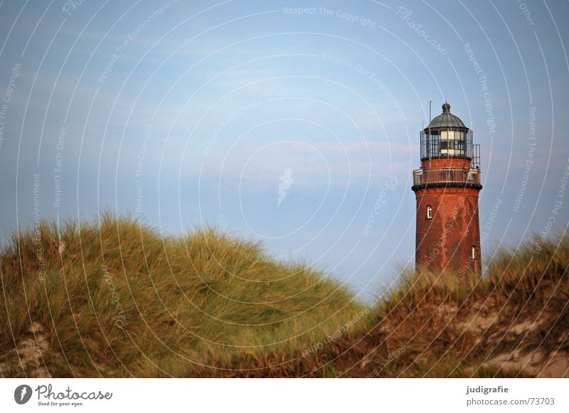 Sky Ocean Beach Vacation & Travel Relaxation Grass Lake Sand Landscape Air Coast Tower Beach dune Lighthouse Baltic Sea Navigation