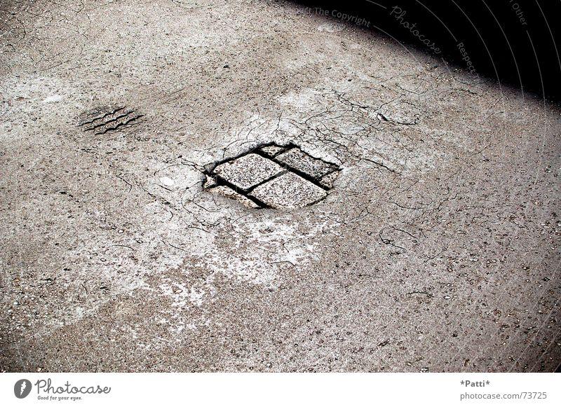 Bernhard-Göring-Straße-Leipzig Tar Physics Asphalt bernhard-göring Warmth summer 2006 asphalt surface