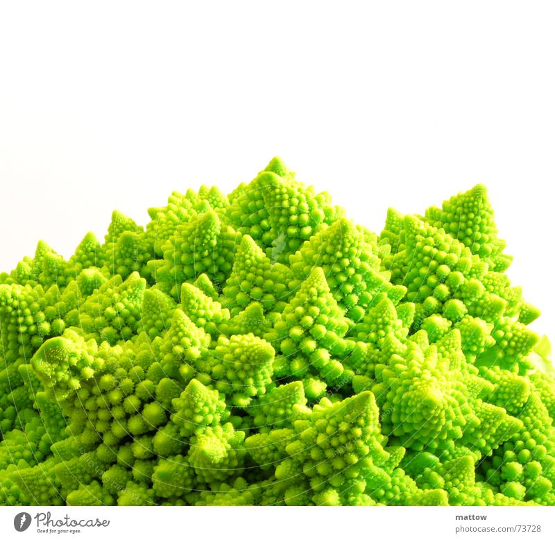 Green Healthy Food Nutrition Vegetable Cauliflower Romanesco