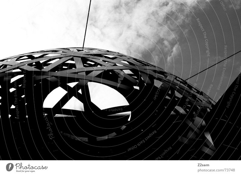 porcupine Work of art Round Pattern Sky Abstract Sphere Hollow Black & white photo Net
