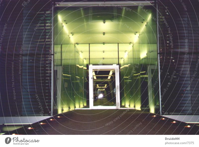 spaceship Entrance Light Mirror House (Residential Structure) Architecture UFO