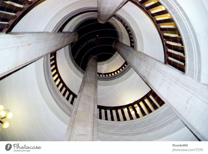 stairwell Edge Architecture Stairs Column Handrail Schwerin Castle