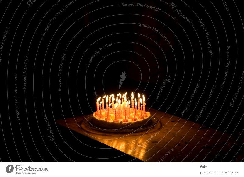 Cake Joy Party Feasts & Celebrations Blaze Candle Burn 30 Gateau Birthday cake