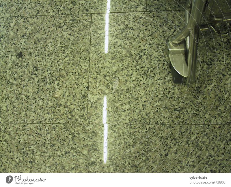 On the motorway Stripe Gray Airport baggage car Floor covering Tile Metal marbled Paving tiles