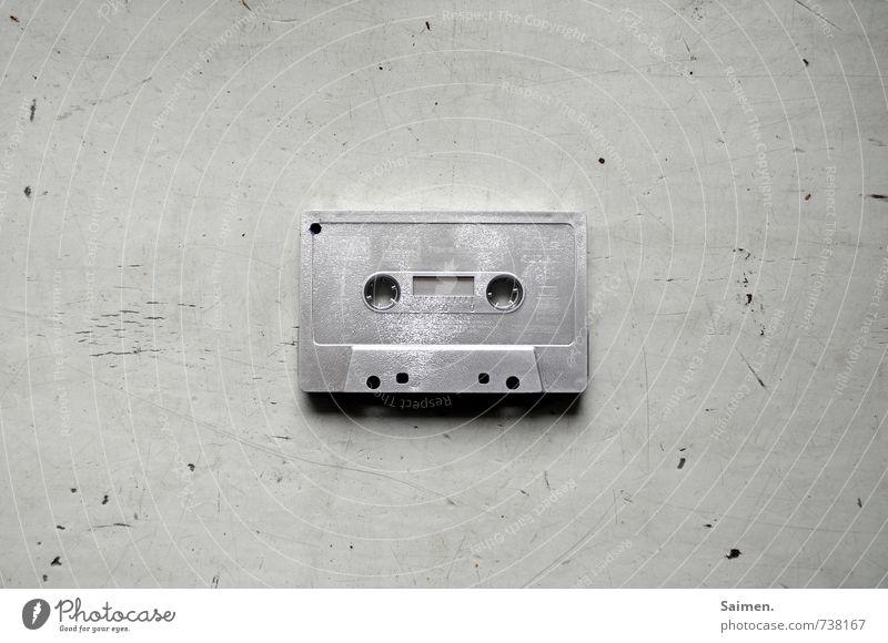 Old Lifestyle Music Retro Analog Silver Nostalgia Tape cassette