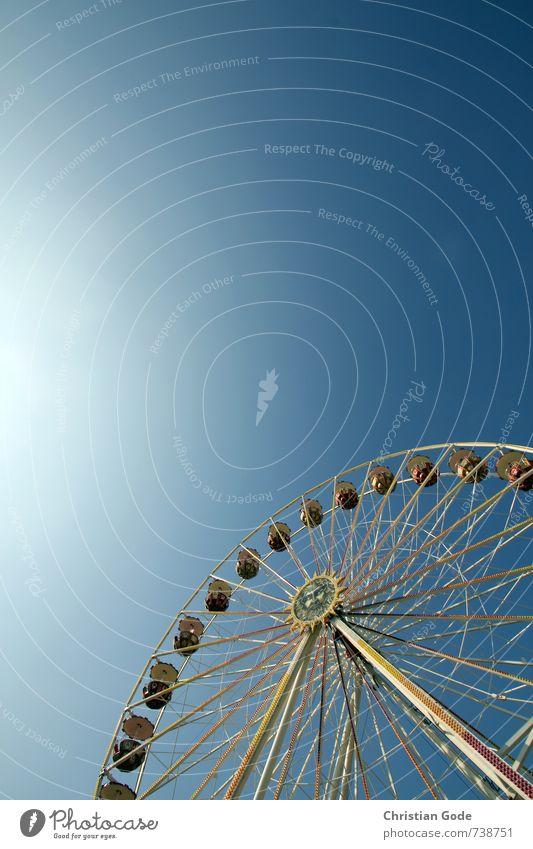 Blue Heaven Fairs & Carnivals Rotate Flare Sky blue Ferris wheel